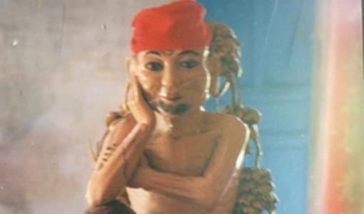 Độc đáo bức tượng cổ Ông Lo Đời ở chùa Phước Lâm