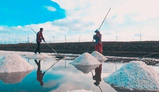 Nghề làm muối ở Bạc Liêu là Di sản văn hóa phi vật thể