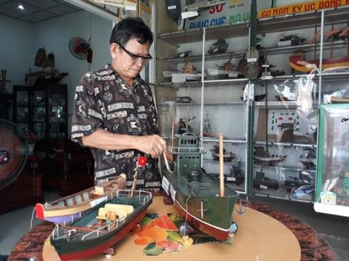 """""""Bảo tàng"""" độc đáo của nghệ nhân Nguyễn Văn Léo"""