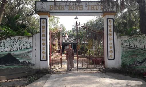 Đình Bình Thủy - Mang đậm dấu ấn lịch sử cách mạng