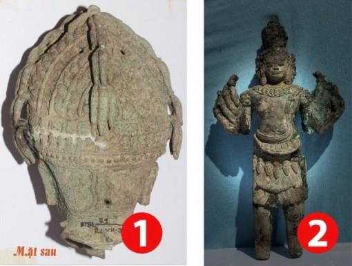 Chiêm ngưỡng 4 bảo vật quốc gia ở tháp cổ Vĩnh Hưng