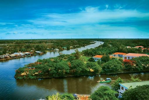 Phố chợ nơi ngã ba sông