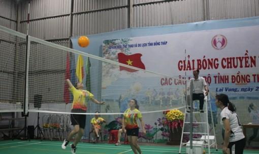Giải bóng chuyền hơi nữ các câu lạc bộ tỉnh Đồng Tháp năm 2021