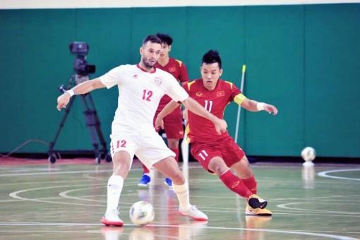 Hòa Lebanon, ĐT Futsal Việt Nam giành lợi thế đến VCK World Cup