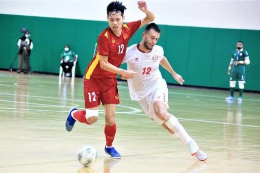 Nhận định futsal Việt Nam - Lebanon: Tiến vào World Cup