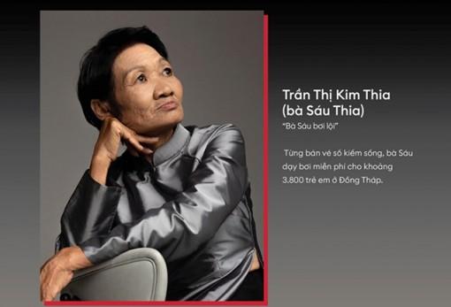 Bà Sáu Thia là 1 trong 20 phụ nữ truyền cảm hứng