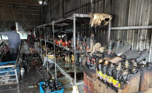 Cà Mau: Cháy cửa hàng tạp hóa tại xã Khánh Hải, huyện Trần Văn Thời