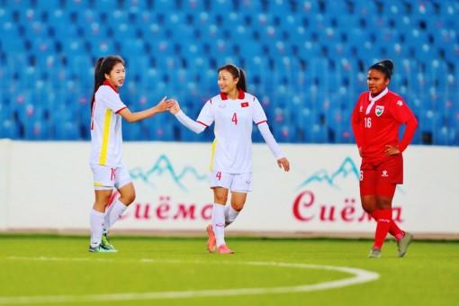 Đội tuyển nữ Việt Nam thắng đậm Maldives 16 - 0