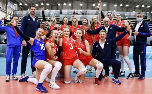 Đội tuyển bóng chuyền nữ Nga giành chức vô địch thế giới U18