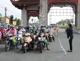 Vĩnh Long tiếp nhận trên 5.300 công dân từ vùng dịch về tỉnh tự túc