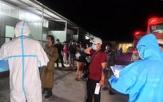 Kiên Giang hỗ trợ công dân về quê 1,5 triệu đồng/người