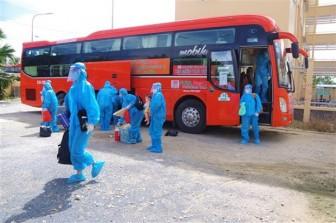 Tỉnh Bạc Liêu đón 170 công dân từ vùng dịch về quê an toàn