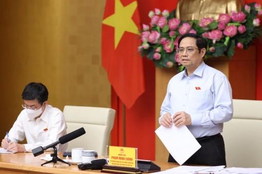Thủ tướng Phạm Minh Chính tiếp xúc trực tuyến với cử tri thành phố Cần Thơ