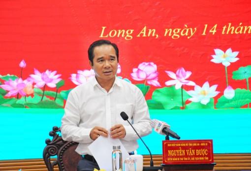 Long An sẵn sàng mở cửa nền kinh tế trong điều kiện 'bình thường mới'